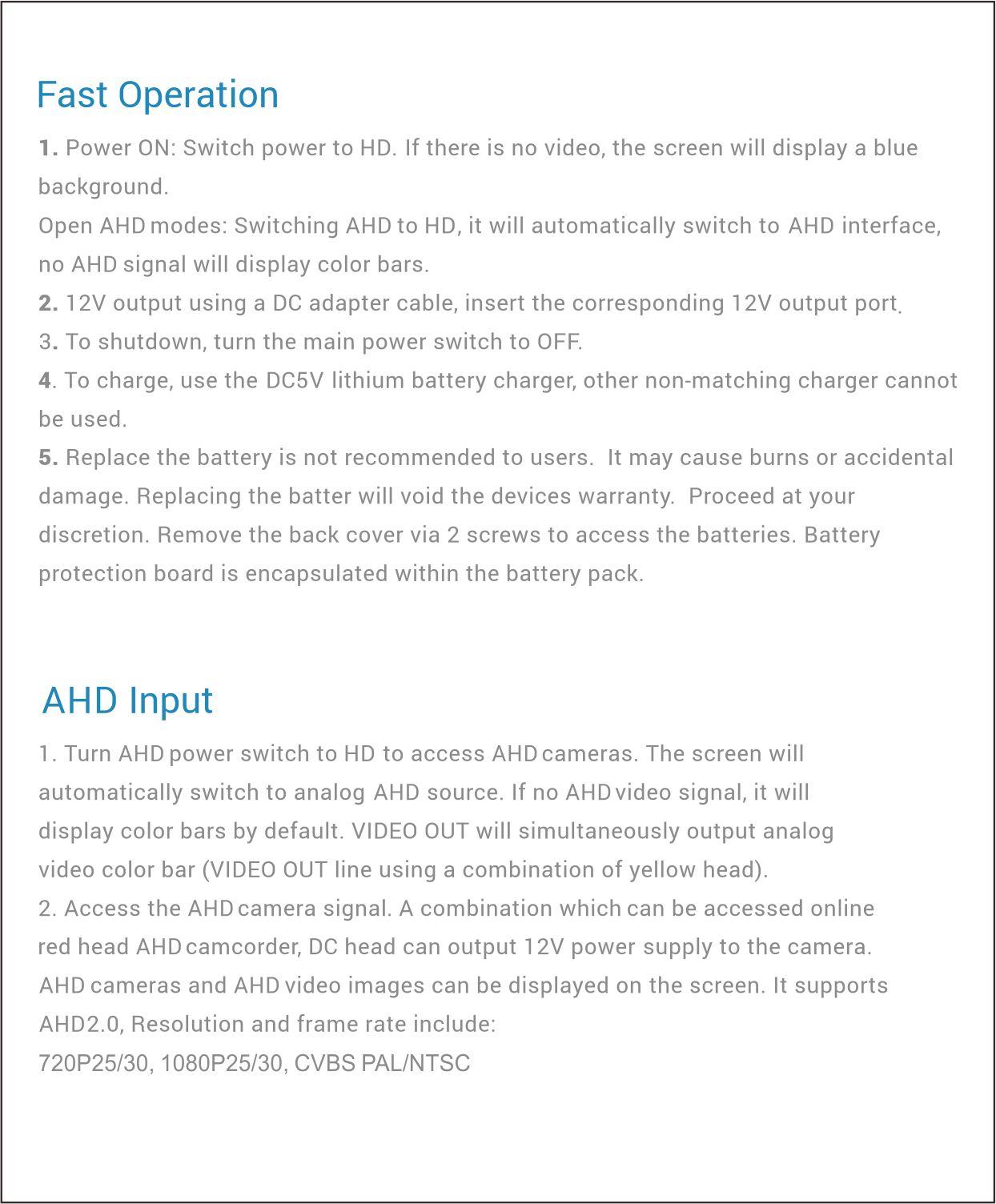 AT430A AHD安防工程宝